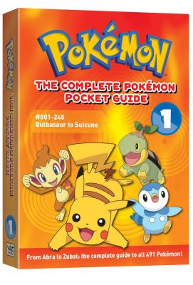 The Complete Pokémon Pocket Guide, Vol. 1: 2nd Edition (Pokemon #1) Cover Image