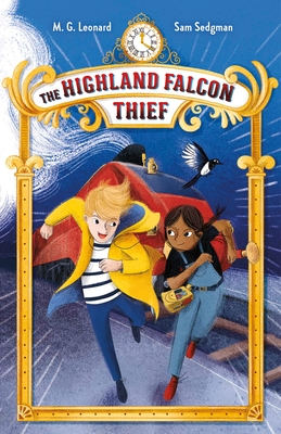 The Highland Falcon Thief: Adventures on Trains #1 Cover Image