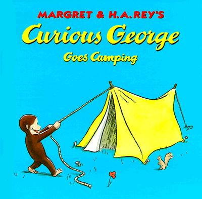Curious George Goes Camping Cover Image