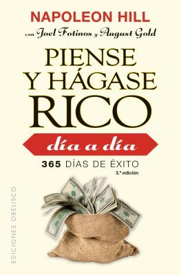 Piense Y Hagase Rico Dia a Dia Cover Image