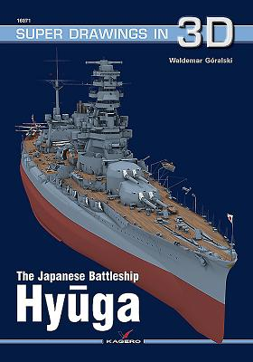 The Japanese Battleship Hyuga (Super Drawings in 3D #1607) Cover Image
