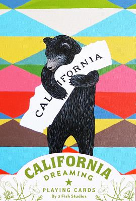 California Dreaming Playing Cards (California Gifts, Novelty Playing Cards, California Deck of Cards) Cover Image