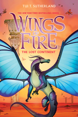 The Lost Continent (Wings of Fire, Book 11) Cover Image