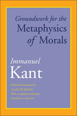 Cover for Groundwork for the Metaphysics of Morals