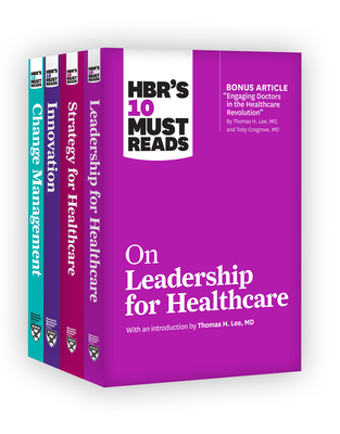 Hbr's 10 Must Reads for Healthcare Leaders Collection Cover Image
