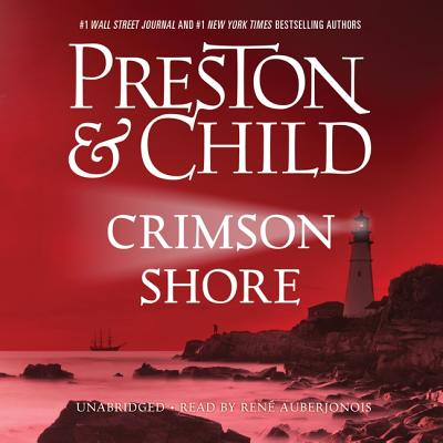 Crimson Shore Lib/E (Pendergast Novels #15) Cover Image