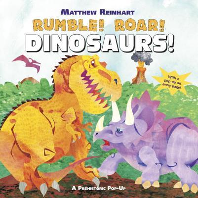Rumble! Roar! Dinosaurs! Cover
