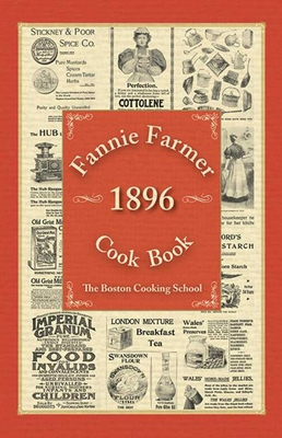 Fannie Farmer 1896 Cook Book Cover Image