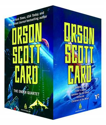 The Ender Quartet Boxed Set: Ender's Game, Speaker for the Dead, Xenocide, Children of the Mind (The Ender Quintet) Cover Image