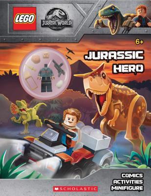 Jurassic Hero (LEGO(R) Jurassic World: Activity Book with Minifigure) (LEGO Jurassic World) Cover Image