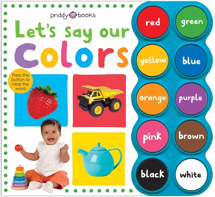 Simple First Words Let's Say Our Colors Cover Image