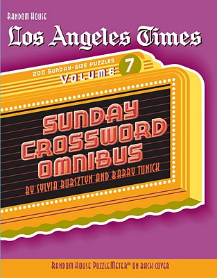 Los Angeles Times Sunday Crossword Omnibus, Volume 7 Cover
