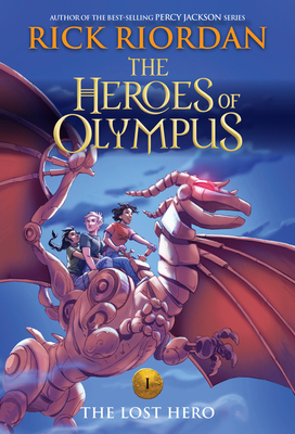 The Heroes of Olympus, Book One The Lost Hero (new cover) Cover Image