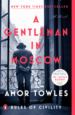 A Gentlemen in Moscow book cover