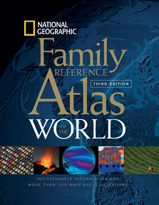 National Geographic Family Reference Atlas of the World Cover Image