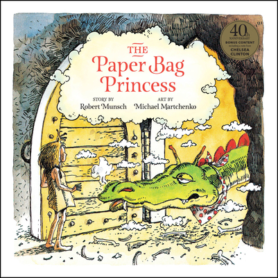 The Paper Bag Princess 40th Anniversary Edition Cover Image