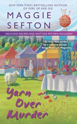 Yarn Over Murder (A Knitting Mystery #12) Cover Image