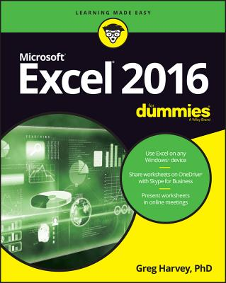 Excel 2016 for Dummies Cover Image