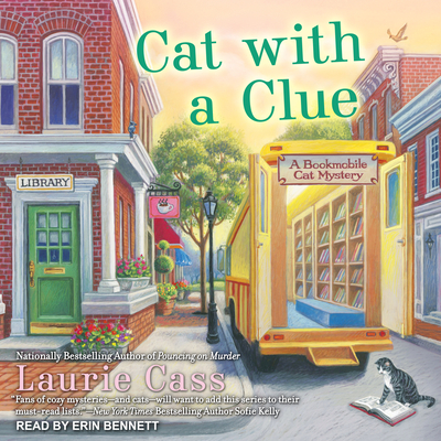 Cat with a Clue (Bookmobile Cat Mystery #5) Cover Image