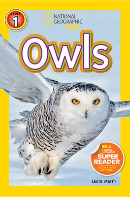 National Geographic Readers: Owls Cover Image