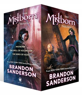 Mistborn Trilogy Set Cover