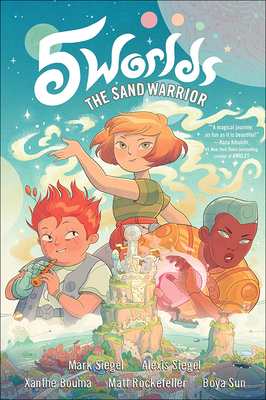 5 Worlds 1: The Sand Warrior Cover Image