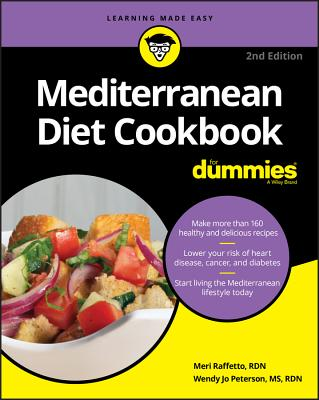 Mediterranean Diet Cookbook for Dummies Cover Image