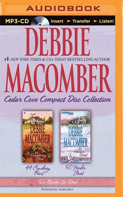Debbie Macomber Cedar Cove Compact Disc Collection: 44 Cranberry Point/50 Harbor Street Cover Image
