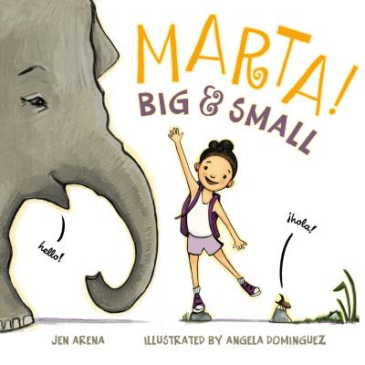 Marta! Big & Small Cover