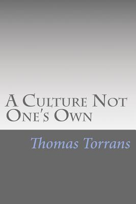 A Culture Not One's Own Cover Image