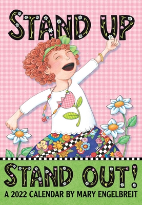 Mary Engelbreit's 2022 Monthly Pocket Planner Calendar: Stand Up Stand Out! Cover Image