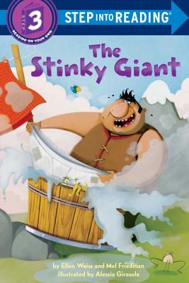 The Stinky Giant (Step into Reading) Cover Image