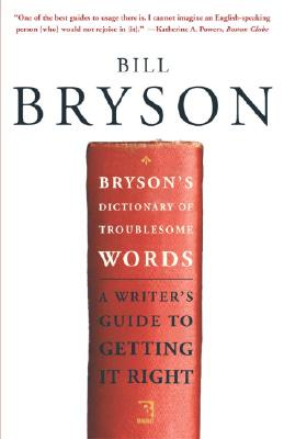 Bryson's Dictionary of Troublesome Words cover image