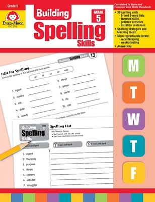 Building Spelling Skills Grade 5 Cover Image