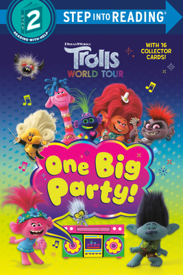 One Big Party! (DreamWorks Trolls World Tour) (Step into Reading) Cover Image