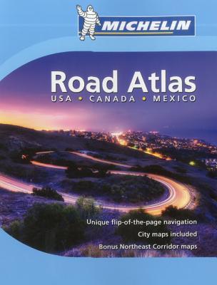 Michelin USA, Canada, Mexico Road Atlas Cover