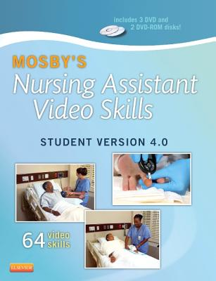Mosby's Nursing Assistant Video Skills - Student Version DVD 4.0 Cover Image