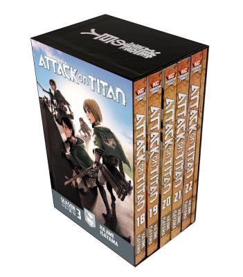 Attack on Titan Season 3 Part 2 Manga Box Set cover image