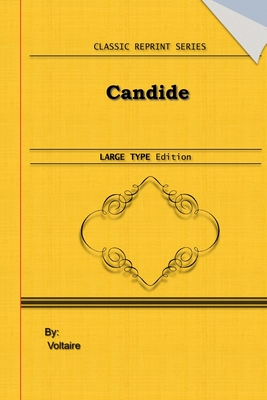 Candide: Large Print Edition: Classic Novel Reprint Cover Image
