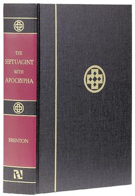 Septuagint with Apocrypha-PR-Greek/English Cover Image