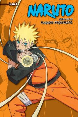 Naruto (3-in-1 Edition), Vol. 18 cover image