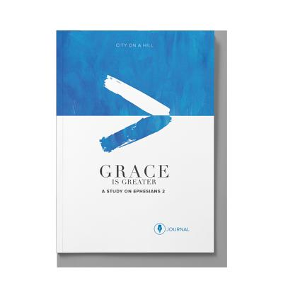 Grace Is Greater: Participant Journal: God's Plan to Overcome Your Past, Redeem Your Pain, and Rewrite Your Story Cover Image
