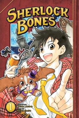 Sherlock Bones, Volume 1 Cover