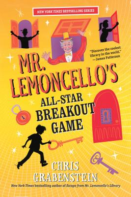 Mr. Lemoncello's All-Star Breakout Game (Mr. Lemoncello's Library #4) Cover Image