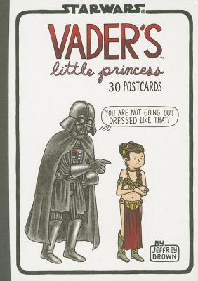 Vader's Little Princess 30 Postcards Cover Image
