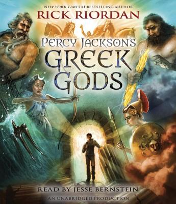 Percy Jackson's Greek Gods Cover Image