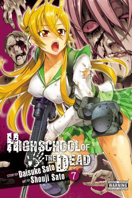 Highschool of the Dead, Vol. 7 Cover