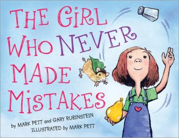 The Girl Who Never Made Mistakes Cover