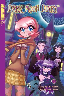 Dark Moon Diary manga volume 1 (Dark Moon Diary manga #1) Cover Image