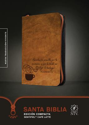 Santa Biblia Ntv, Edicion Compacta, Cafe Latte Cover Image